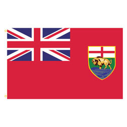 Manitoba Rectangle Flags