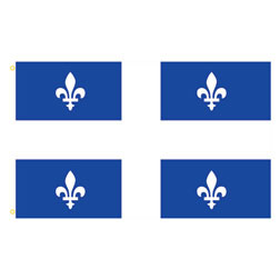 Quebec Rectangle Flags