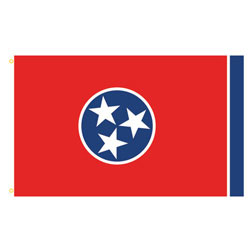 Tennessee Rectangle Flags