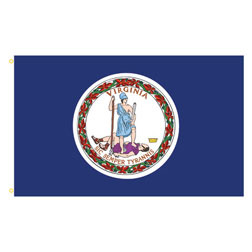 Virginia Rectangle Flags