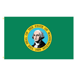 Washington Rectangle Flags