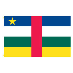 Central African Republic Rectangle Flags