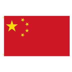 China Rectangle Flags