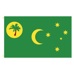 Cocos Islands Rectangle Flags