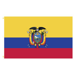 Ecuador Rectangle Flags