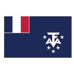 French Southern & Antarctic Lands Rectangle Flags