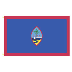 Guam Rectangle Flags