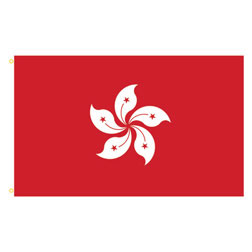Hong Kong Rectangle Flags