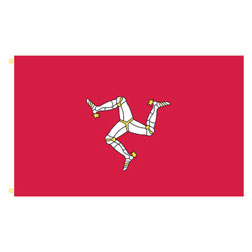 Isle of Man Rectangle Flags