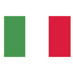 Italy Rectangle Flags