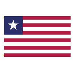 Liberia Rectangle Flags