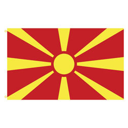 Macedonia Rectangle Flags