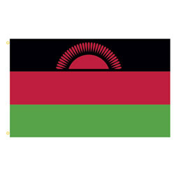 Malawi Rectangle Flags