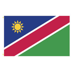 Namibia Rectangle Flags