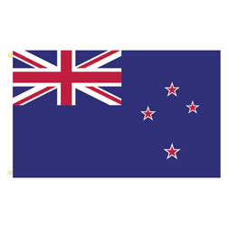 New Zealand Rectangle Flags