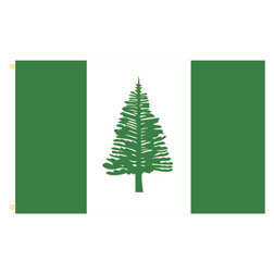 Norfolk Island Rectangle Flags