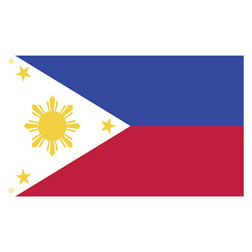 Philippines Rectangle Flags