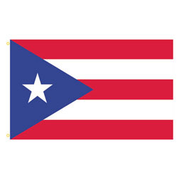 Puerto Rico Rectangle Flags