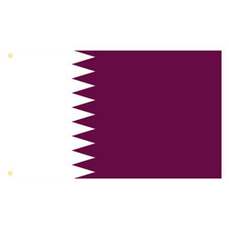 Qatar Rectangle Flags