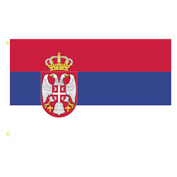 Serbia Rectangle Flags