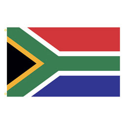 South Africa Rectangle Flags