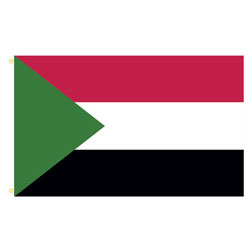 Sudan Rectangle Flags