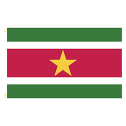 Suriname Rectangle Flags