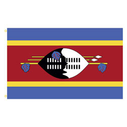 Swaziland Rectangle Flags