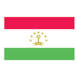 Tajikistan Rectangle Flags