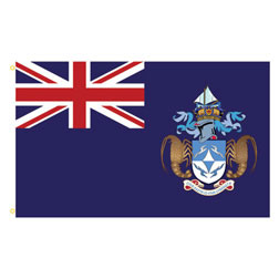 Tristan da Cunha Rectangle Flags