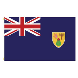 Turks & Caicos Islands Rectangle Flags