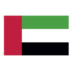 United Arab Emirates Rectangle Flags