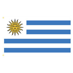 Uruguay Rectangle Flags