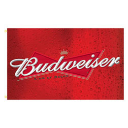 Budweiser Rectangle Flags