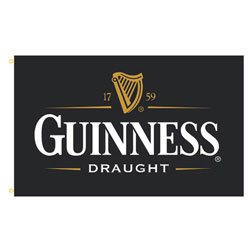 Guinness Rectangle Flags