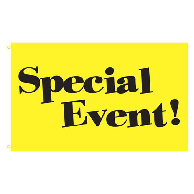 Image result for yellow = special event
