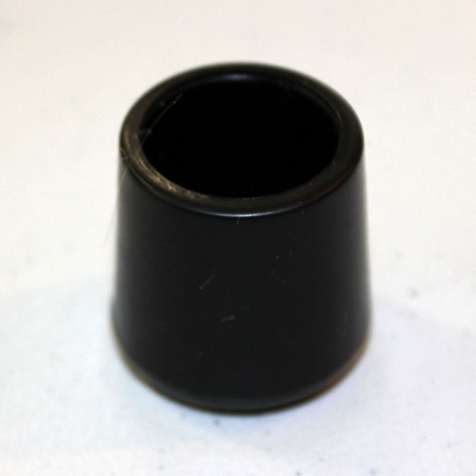 Replacement Foot Chair Leg Caps Black