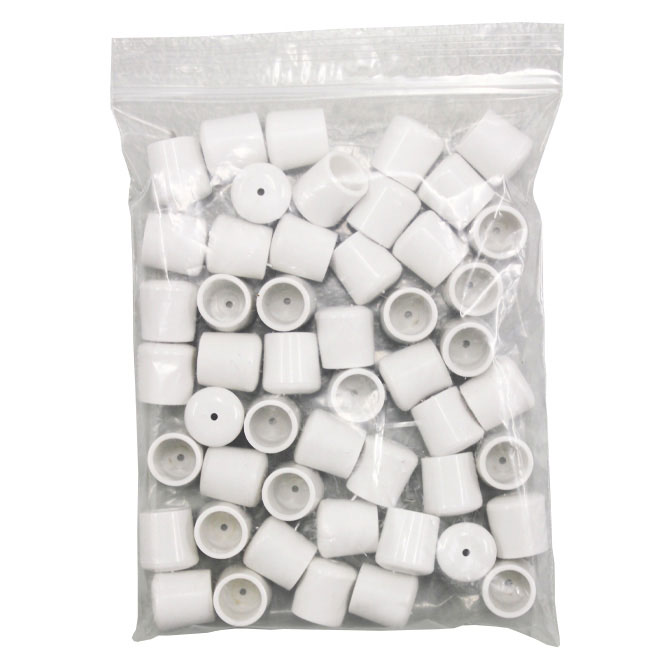 Replacement Foot Chair Leg Caps White