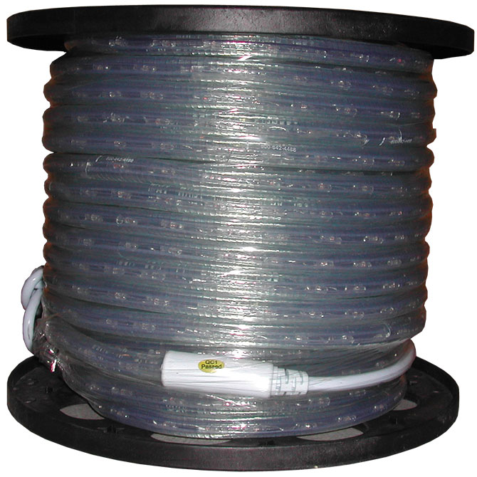 150 clear rope lighting spool 150 clear rope light spool aloadofball Choice Image