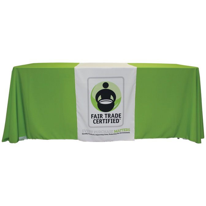 Custom Printed Table Runner 24 X 72