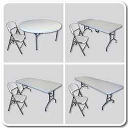 Banquet Tables And Folding Chairs For Events - Buy table and chairs wholesale