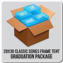 20' x 30' Classic Series Frame Tent Graduation Package