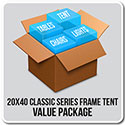 20' x 40' Classic Series Frame Tent Value Package