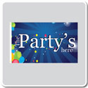 Celebration & Party Flags - Rectangle