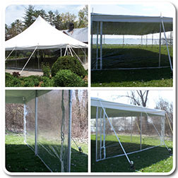 Pole u0026 Frame Tent Clear Sidewalls & Clear Vinyl Sidewalls for Standard Tents and Canopies