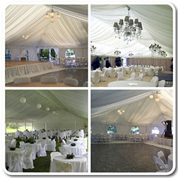Frame Style Hi-Pro Party Tent Liners