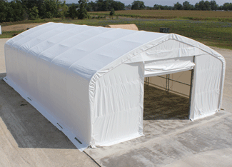 fabric structures truss arch shelter