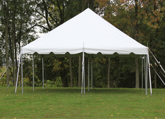pole tents frame tents