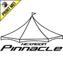Pinnacle Series Hexagon High Peak Frame Tents