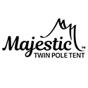 Majestic Series Engineered High Peak Twin Pole Tents